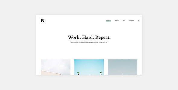 Philament v1.0.2 — Creative Photography/Portfolio WordPress Theme For Elementor