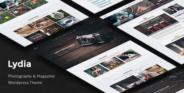 Lydia v1.1.9 — Photography & Magazine WordPress Theme