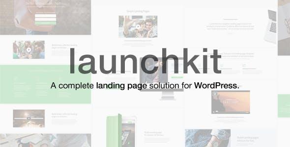 Launchkit v1.1.23 — Landing Page & Marketing WordPress Theme
