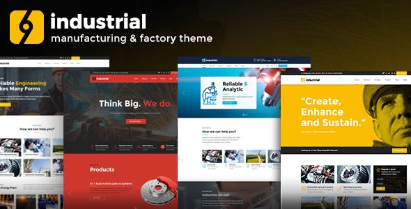 Industrial v1.3.0 — Corporate, Industry & Factory