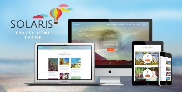 Solaris v1.0 — Travel Agency Site Template