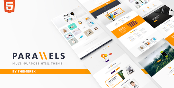 Parallels v1.0 — Multipurpose Site Template