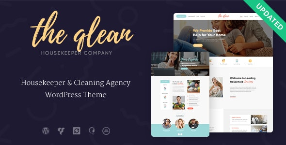 The Qlean v1.2.0 — Cleaning Company WordPress Theme