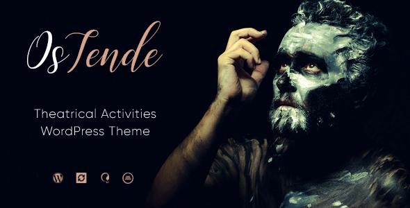 OsTende v1.1.2 — Theater WordPress Theme
