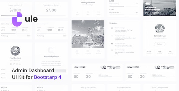 Ule v1.0 — Dashboard Template for Bootstrap