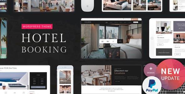 Hotel Booking v1.1 — Hotel WordPress Theme