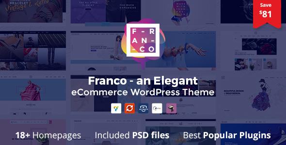 Franco v1.3.3 — Elegant WooCommerce WordPress Theme