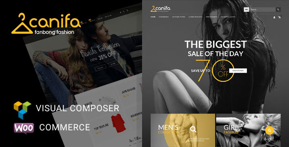 Canifa v2.5 — Fashion Responsive WooCommerce Theme