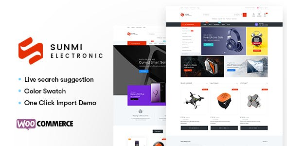 Sumi v1.1.6 — Electronics WordPress Theme for WooCommerce (RTL supported)
