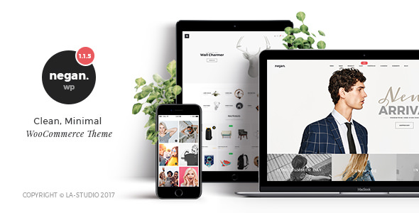 Negan v1.3.2 — Clean, Minimal WooCommerce Theme