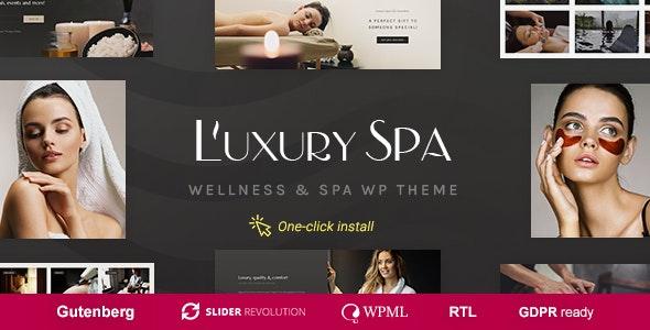 Luxury Spa v1.0.8 — Beauty Spa & Wellness Resort Theme