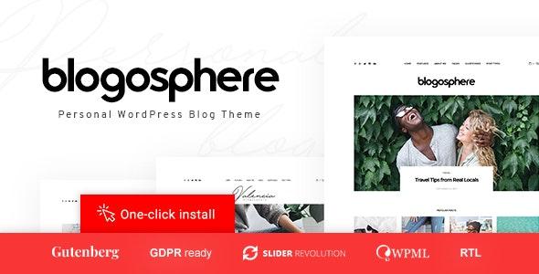 Blogosphere v1.0.4 — Multipurpose Blogging Theme