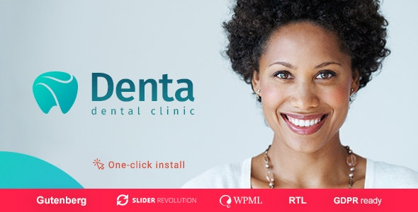 Denta v1.0.5 — Dental Clinic WP Theme