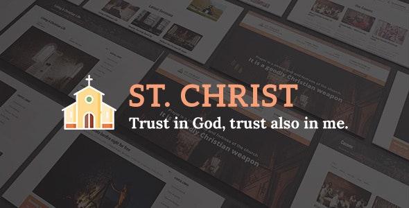 St. Christ — Church & Charity Joomla Template