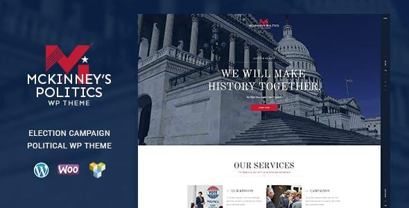 MCKinney's Politics v1.2 — Elections Campaign Theme