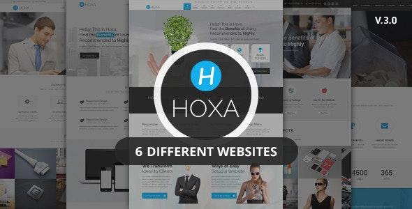 Hoxa v3.1 — Responsive Multipurpose Joomla Template