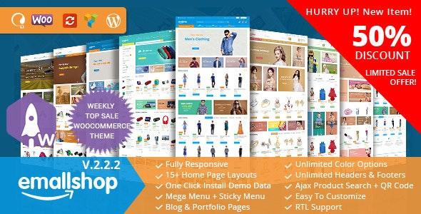 EmallShop v2.2.2 — Multipurpose WooCommerce Theme