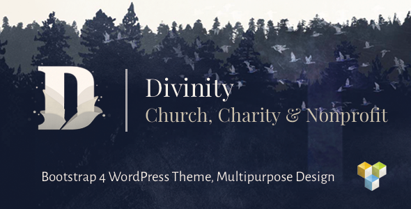 Divinity v1.3.2 — Church, Nonprofit, Charity Events Theme