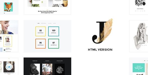 Cindy J v1.0 — Creative Portfolio / Blog / CV HTML Theme