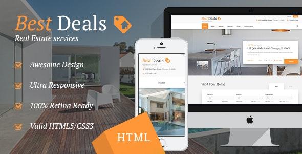 Best Deals v1.1 — Property Sales & Rental Site Template