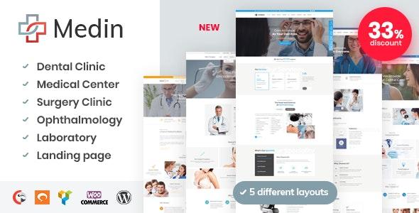 Medin v1.0 — Medical Center WordPress Theme