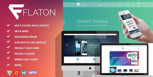 Flaton v1.6.2 — WooCommerce Responsive Digital Theme