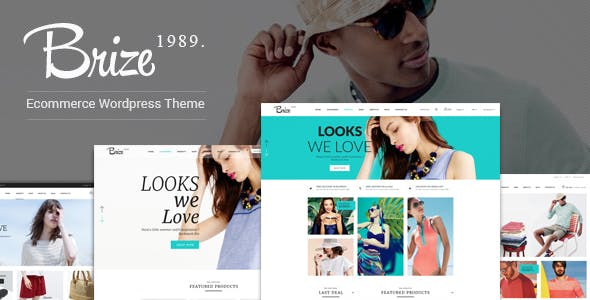 Brize v1.3.2 — Responsive WooCommerce Fashion Theme
