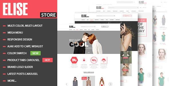 Elise v1.3.3 — Fashion WooCommerce WordPress Theme