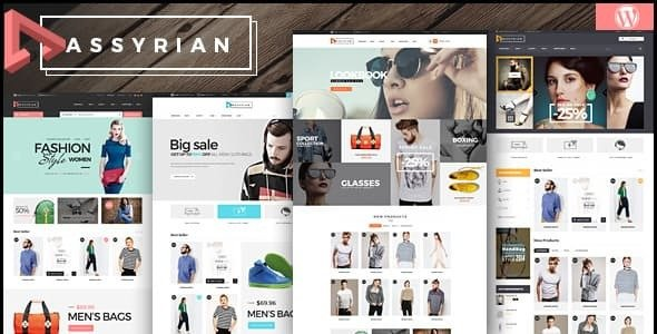 Assyrian v1.7.2 — Responsive Fashion WordPress Theme