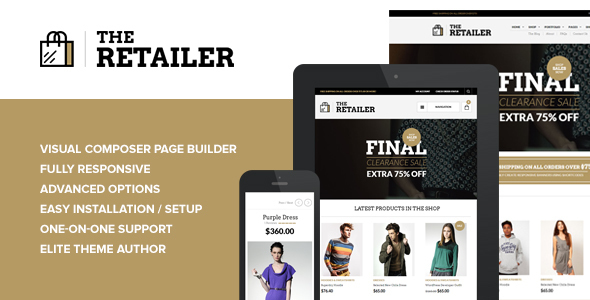 The Retailer v2.14 — Responsive WordPress Theme