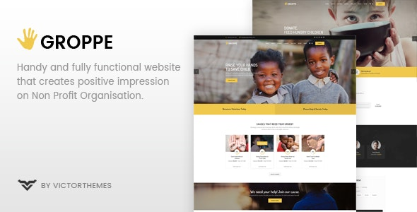 Groppe v2.4 — Nonprofit WordPress Theme
