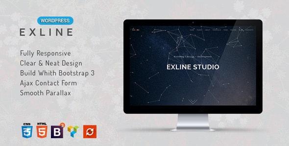 Exline v1.5.8 — One Page Multipurpose WordPress Theme