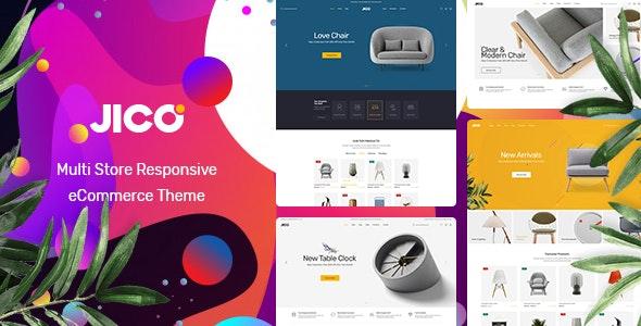 Jico v1.0 — Furniture & Home Decor for WooCommerce WordPress