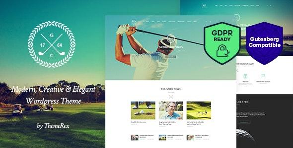 N7 v1.3.1 — Golf Club, Sports & Events WordPress Theme