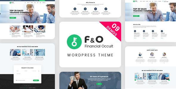 F&O v1.2.2 — Consultant Finance WordPress Theme