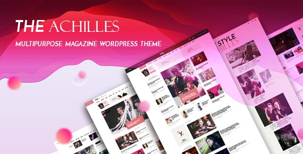 Achilles v1.7 — Multipurpose Magazine & Blog WordPress Theme