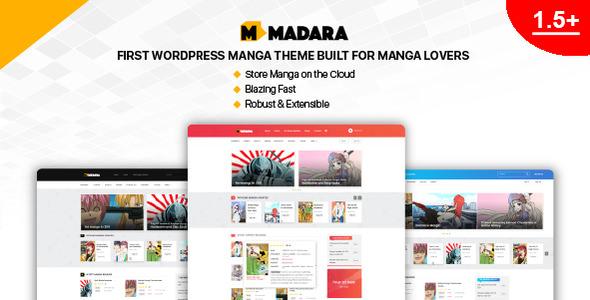 Madara v1.6.0.1 — WordPress Theme for Manga