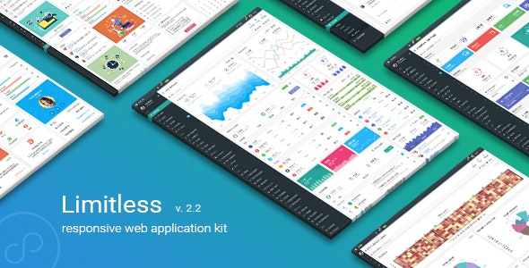 Limitless v2.2 — Responsive Web Application Kit