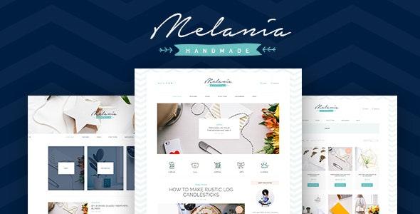 Melania v1.5.2 — Handmade Blog & Shop WordPress Theme