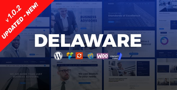 Delaware v1.0.3 — Consulting and Finance WordPress Theme