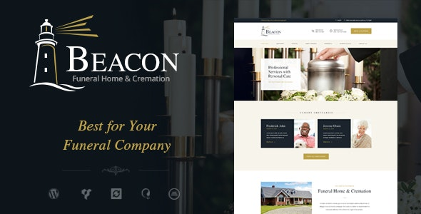 Beacon v1.3 — Funeral Home WordPress Theme