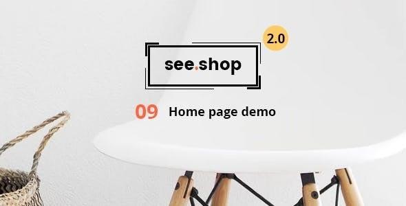 See Shop Furniture v2.0 — Interior RTL Responsive WooCommerce WordPress Theme