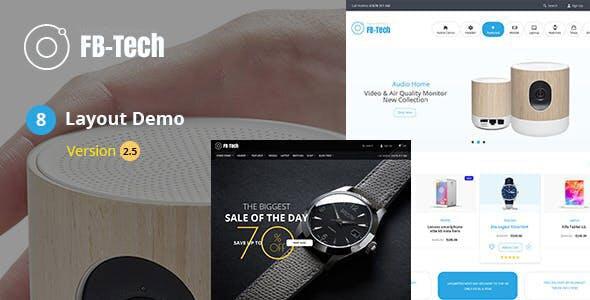 FB-Tech v2.7 — Digital RTL WooCommerce Theme