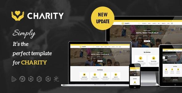 Charity v3.0.3 — Nonprofit, Fundraising Joomla Template