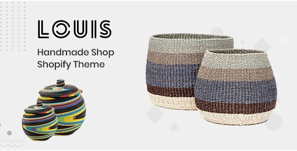 Louis v1.0.0 — Handmade & Craft Shopify Theme