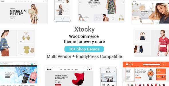 Xtocky v2.0.1 — WooCommerce Responsive Theme