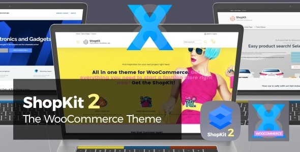 ShopKit v2.0.5 — The WooCommerce Theme
