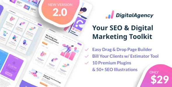SEO WP v2.0.1 — Online Marketing, SEO, Social Media Agency