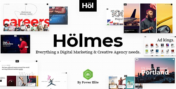 Holmes v1.1.3 — Digital Agency Theme