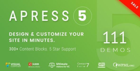 Apress v5.0.0 — Responsive Multi-Purpose Theme